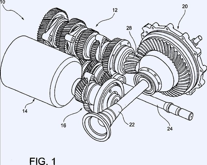 Transmisión híbrida para vehículo a motor.
