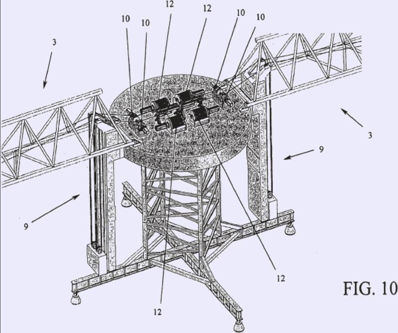 Sistema eólico para convertir energía a través de una turbina de eje vertical accionada por medio de cometas.