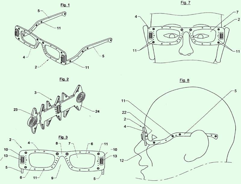 Dispositivo que permite las mediciones necesarias para el montaje de los cristales y para el ajuste de las monturas de gafas graduadas.