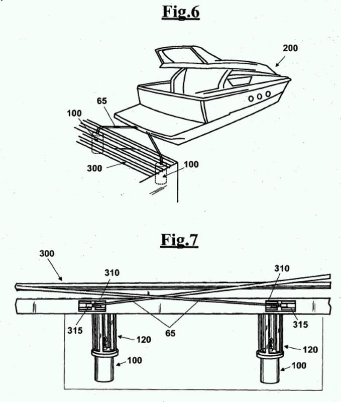 Estructura de amortiguador hidráulico.