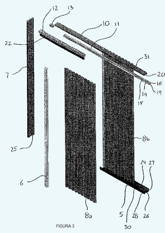Para batientes que deslizan horizontal y sensiblemente for Marco puerta corredera