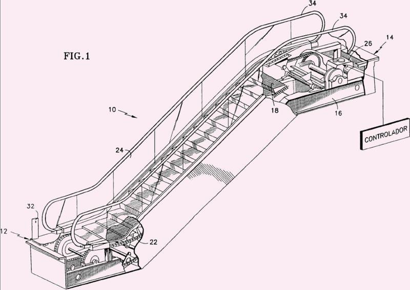 Procedimiento de conmutación entre alimentación eléctrica y un inversor de frecuencia y viceversa para un accionamiento de escaleras mecánicas y dispositivo correspondiente.