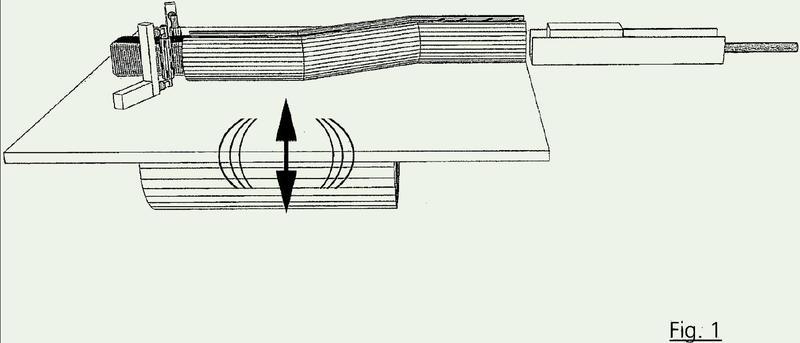Dispositivo y procedimiento para el envejecimiento artificial de piedras.