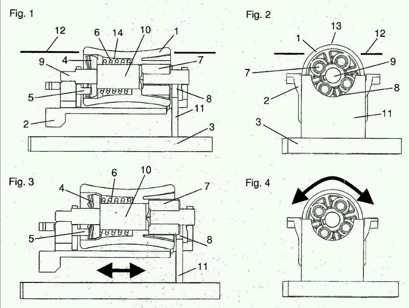 Unidad de introducción para un elemento de control que puede accionarse por presión y por giro.