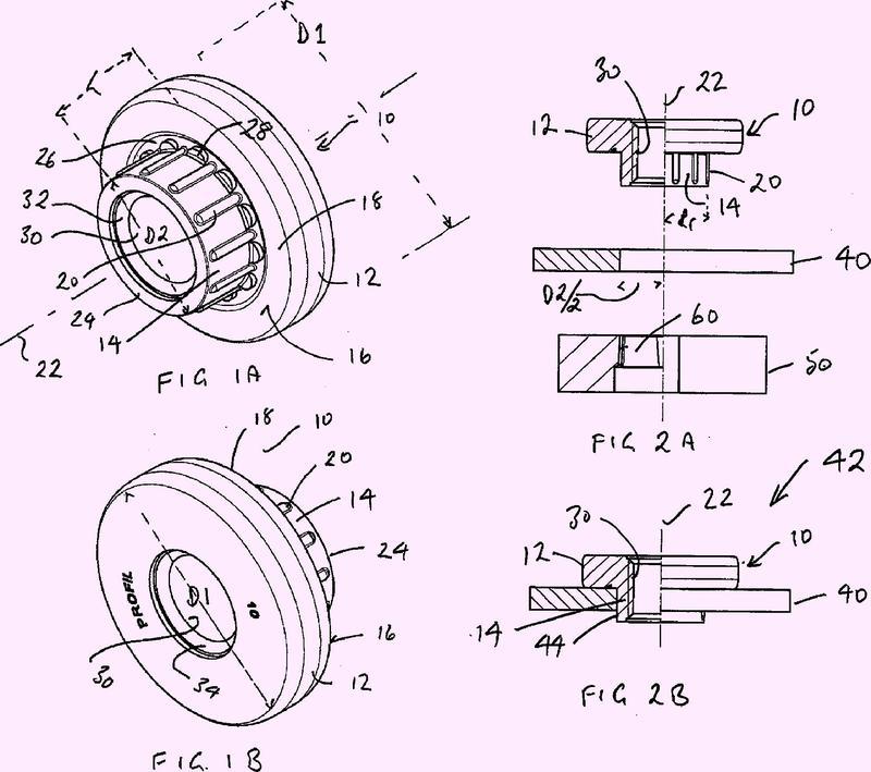 Elemento de punzonado, componente de premontaje, componente de ensamblaje y procedimiento.