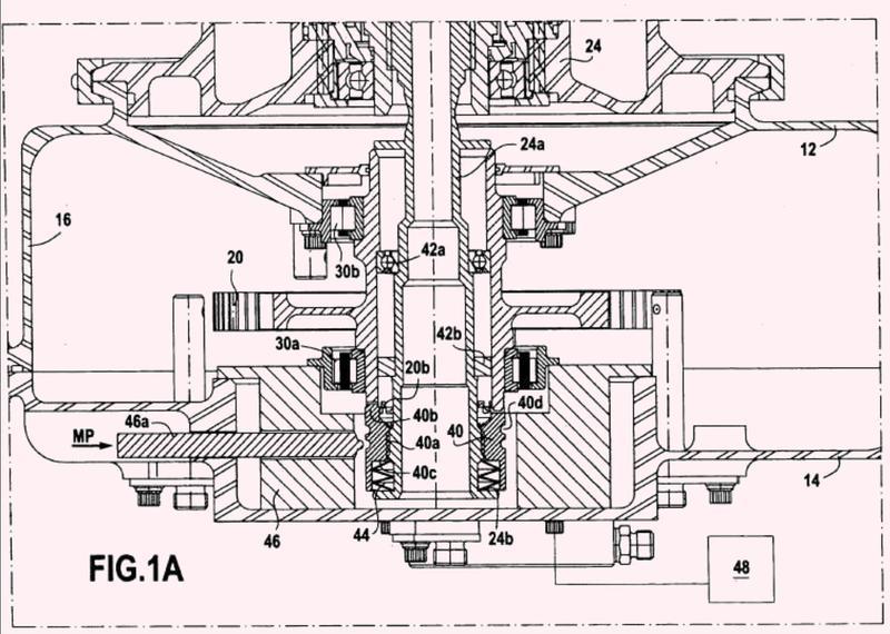 Caja de engranajes de accesorios de una turbina de gas que integra medios de desacoplamiento.