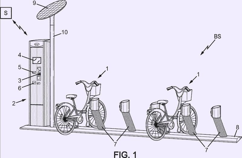 Sistema automático de almacenamiento de bicicletas y puesto de enclavamiento de bicicletas para un sistema de ese tipo.