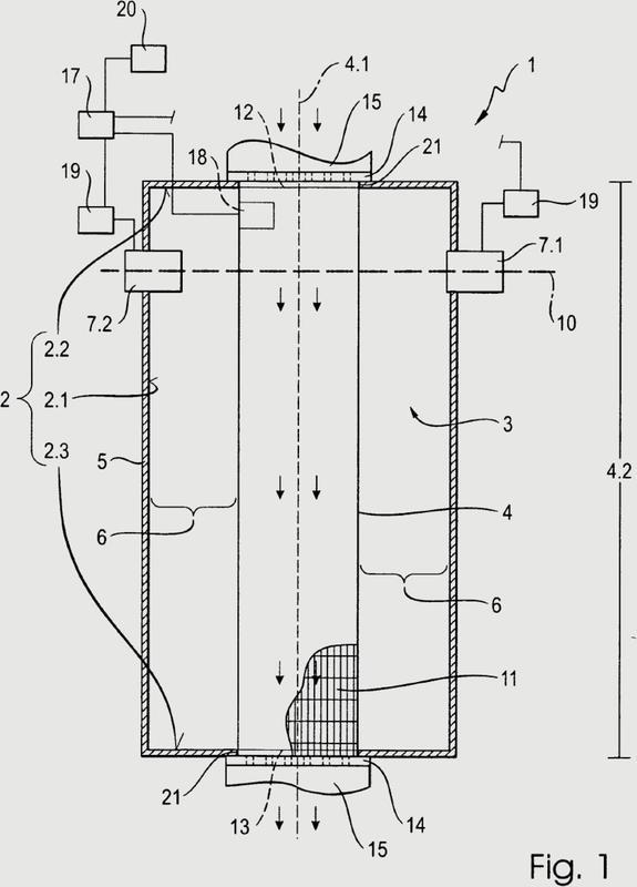 Reactor de microondas para el calentamiento, asistido por microondas, de un medio.