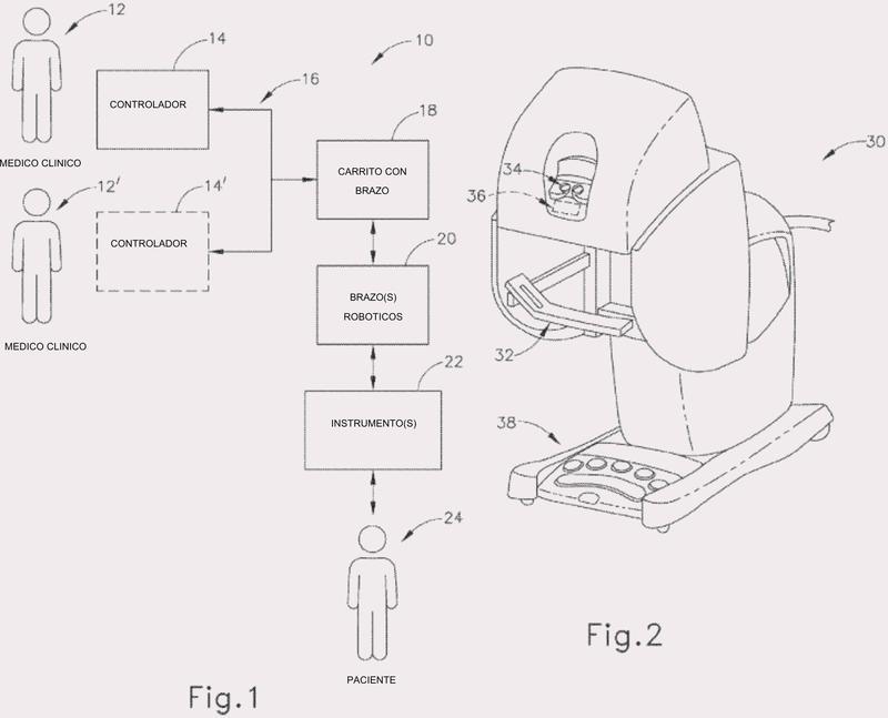 Dispositivo quirúrgico ultrasónico robótico con efector final articulado.