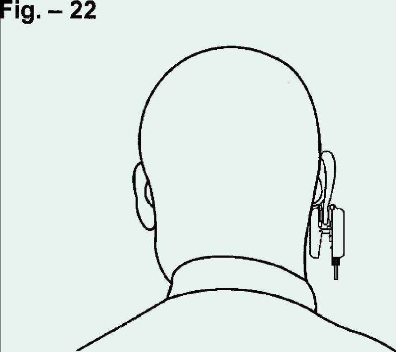 Pinza para oreja para dispositivo de monitorización médica.