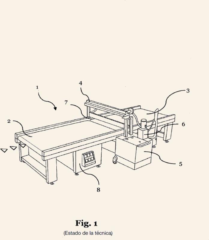 Instalación y procedimiento para el recubrimiento por cortina de componentes en forma de placa.