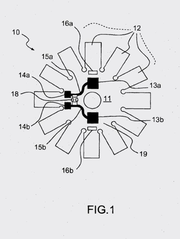 Circuito impreso destinado a garantizar la conexión de un motor eléctrico y motor eléctrico que comprende el circuito impreso.