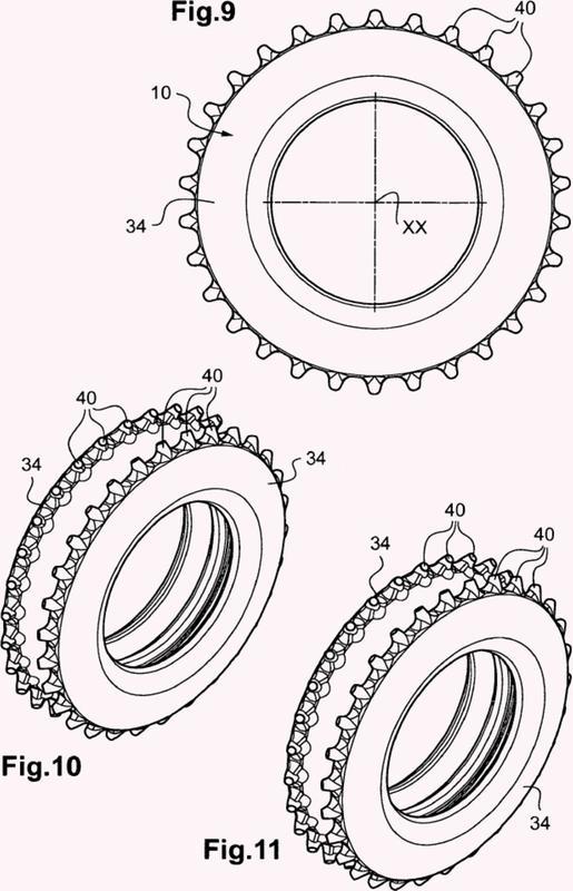 Neumático para máquinas agrícolas.