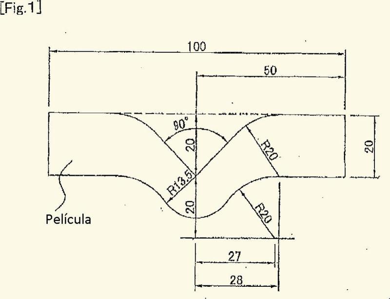 Película de poliéster termorretráctil y cuerpo de embalaje.