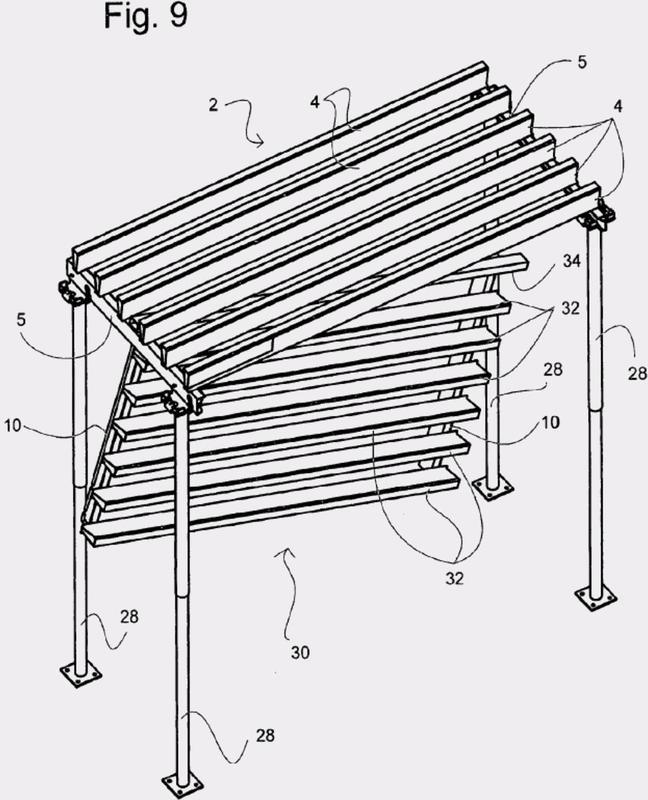 Sistema de encofrado de techo.