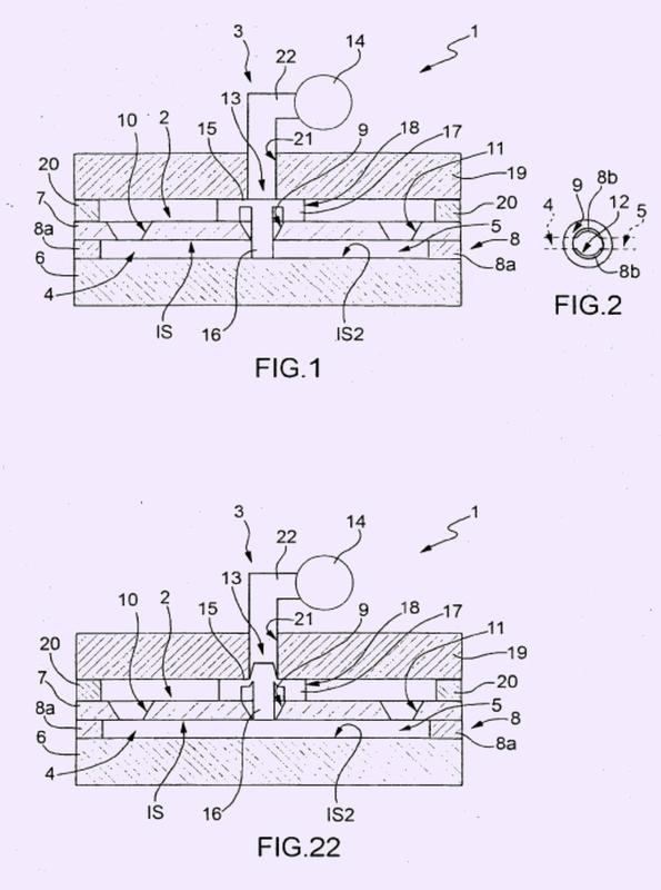 Sistema de microfluidos.