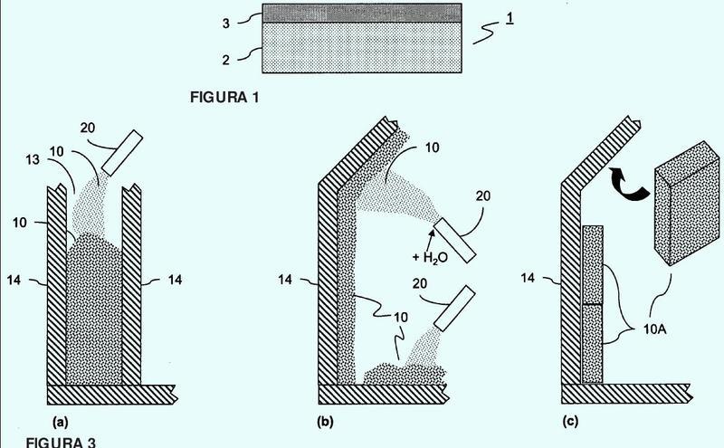 Método para reciclar material de lámina recubierto con un agente de liberación, usos del material reciclado de esta forma, y material de aislamiento.