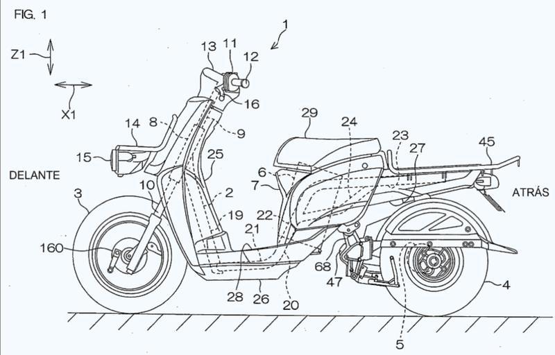 Vehículo eléctrico de dos ruedas.