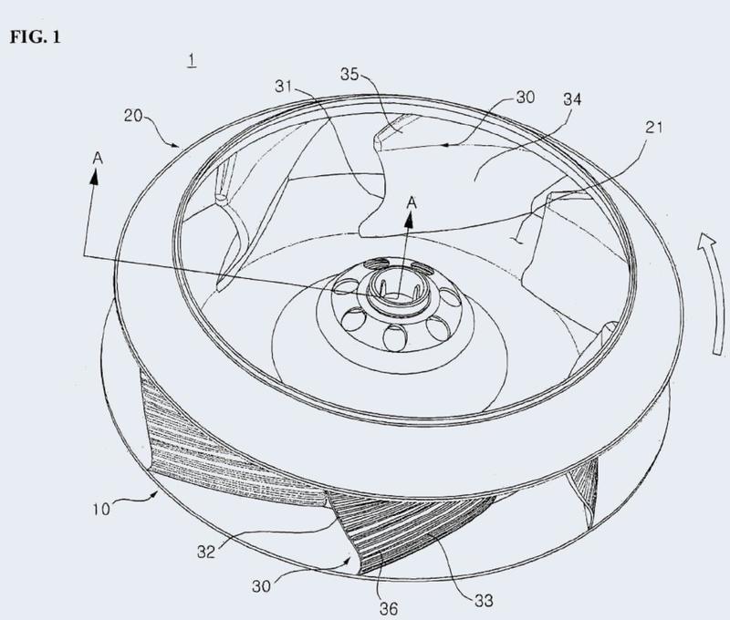 Turboventilador y acondicionador de aire con turboventilador.