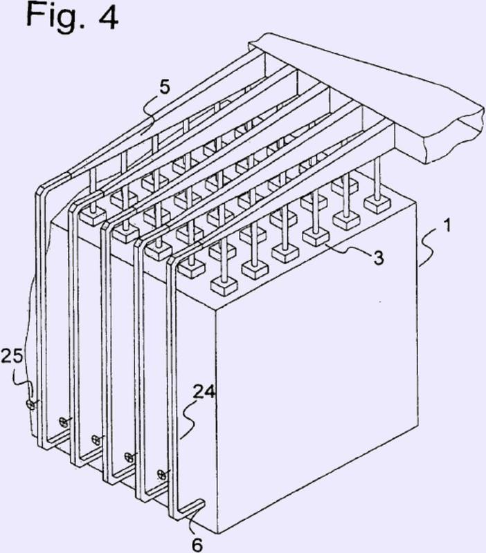 Reformador primario con corriente de gas de combustión variable.