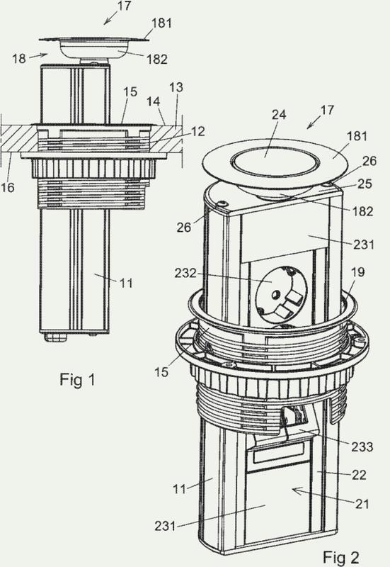 Torre de conexión para montaje en superficie.