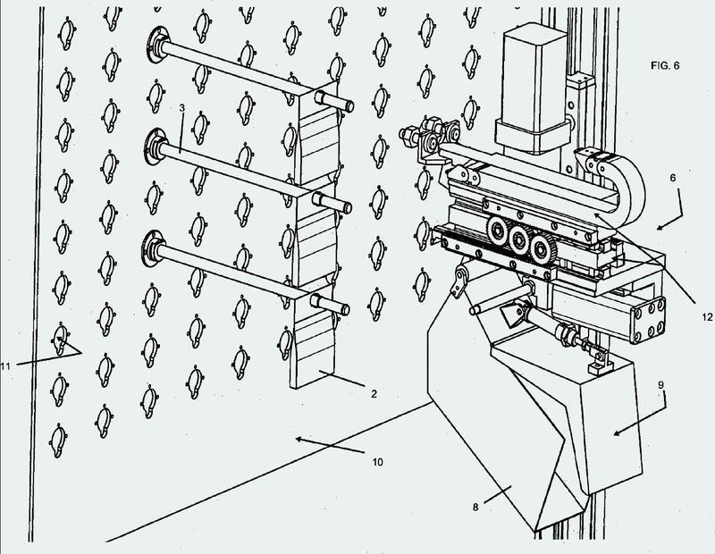 Método y aparato para el almacenamiento y dispensación de productos farmacéuticos en dosis unitarias o unidades de administración.