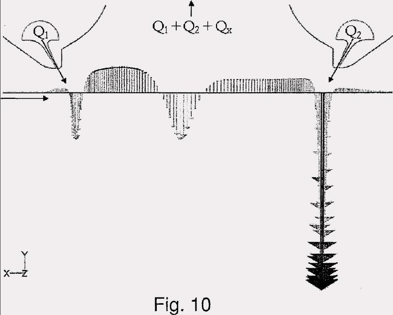 Dispositivo para retirar partículas líquidas o sólidas de una superficie plana de un producto metálico.