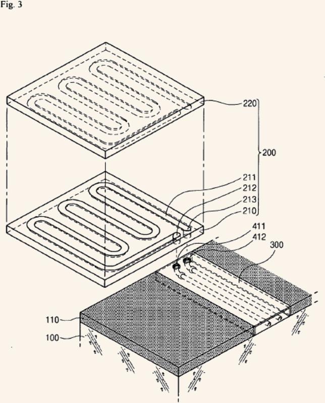 Estructura de calefacción.