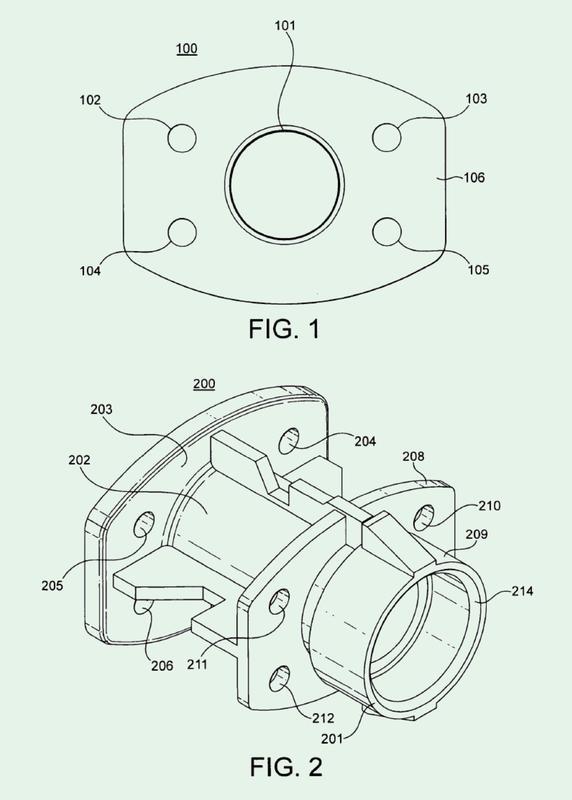 Adaptador del flujo de aire para inhalador de polvo seco accionado por la respiración.