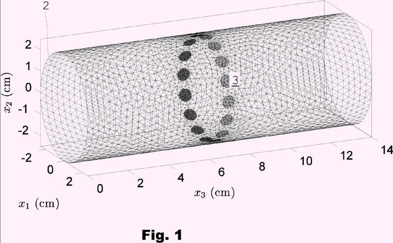 Formación de imágenes tridimensionales de un flujo másico.