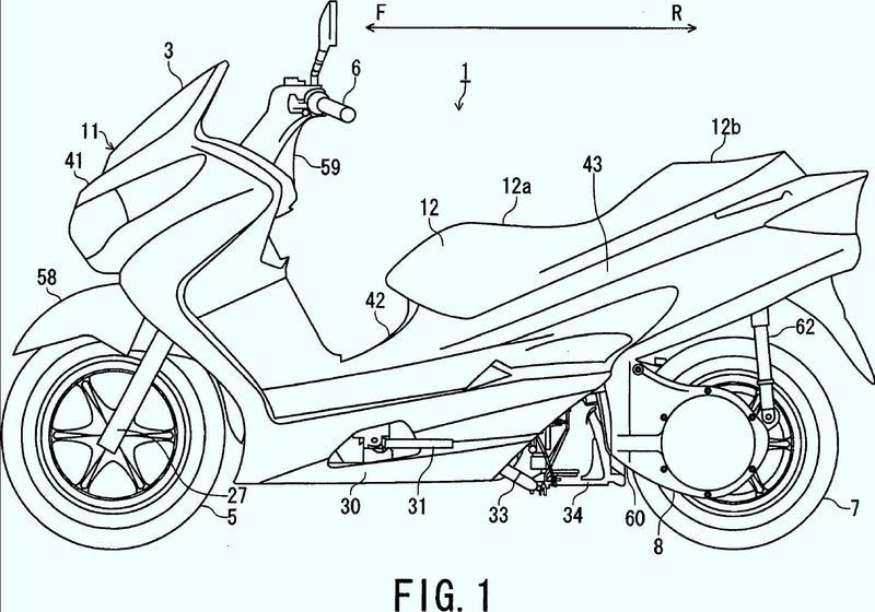 Motocicleta tipo scooter equipada con sistema de pila de combustible.
