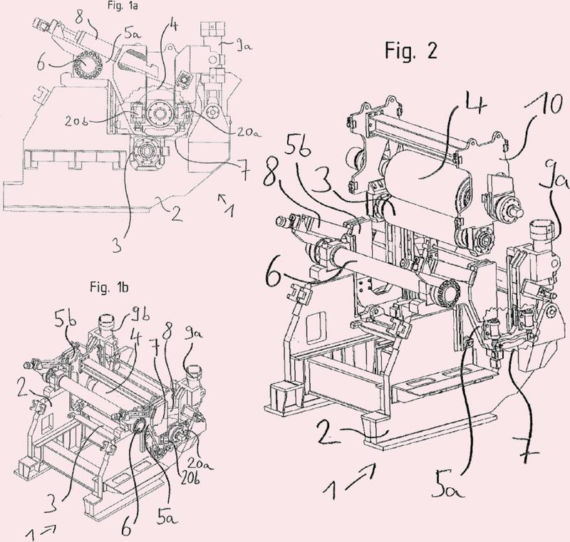 Accionamiento para una instalación de bobinado de banda de acero.