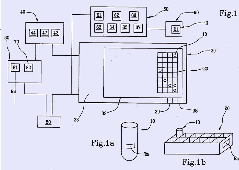 Un sistema para la gestión de la posición de gradillas y de tubos para laboratorios de química clínica.