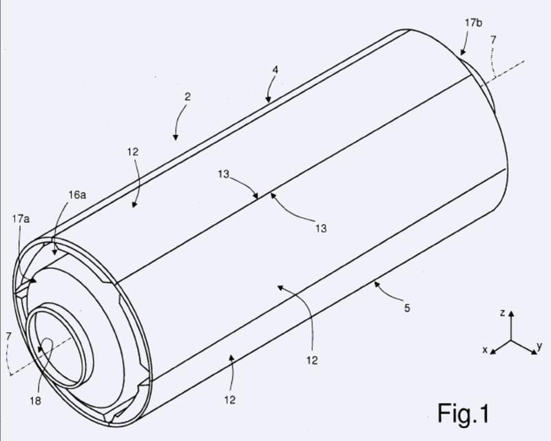 Sistema de restricción de sectores de un dispositivo para producir un fuselaje de avión.