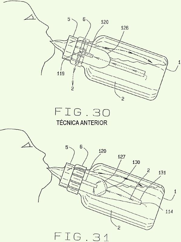 Biberón de reborde ancho completamente ventilado con tubo de ventilación contorneado.