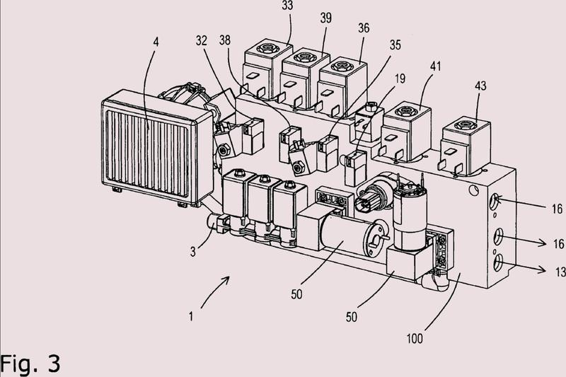 Unidad central para el suministro de medios para sistemas de pilas de combustible con reformador.
