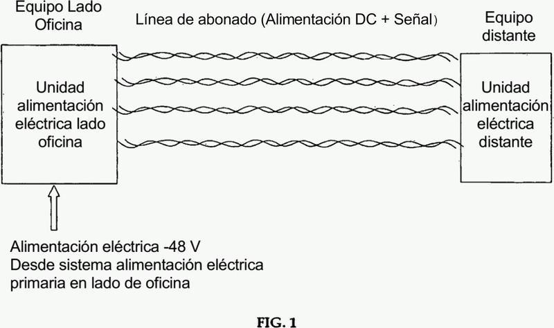 Sistema de alimentación eléctrica a larga distancia para sistema de comunicación.