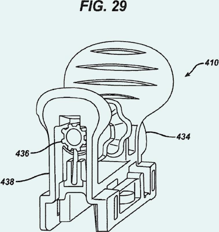 Dispositivo médico para el tratamiento de una apertura del seno.