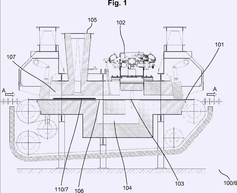 Método y dispositivo de tratamiento de productos metálicos continuos o discretos.