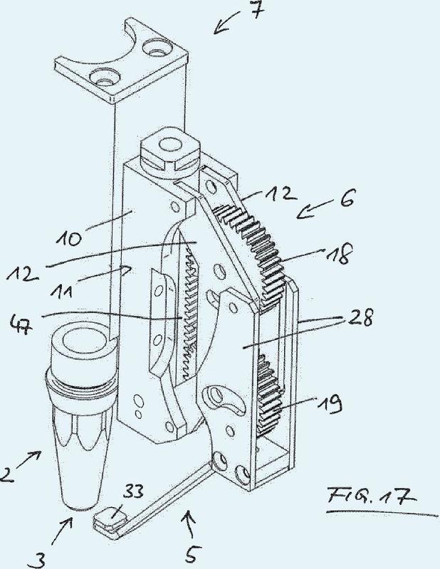 Dispositivo para la descarga de sustancias fluidas.
