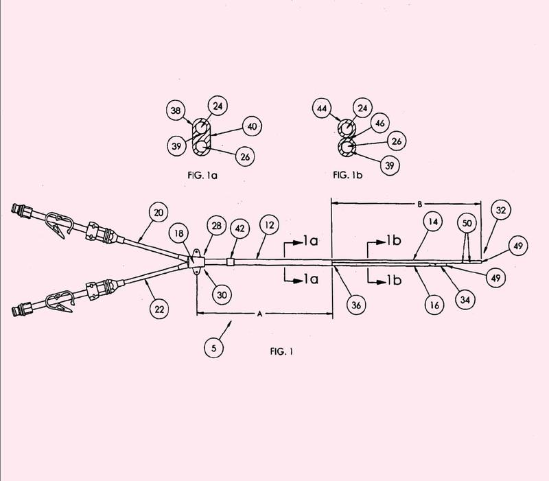 Un catéter de múltiples luces y métodos para hacer el catéter.