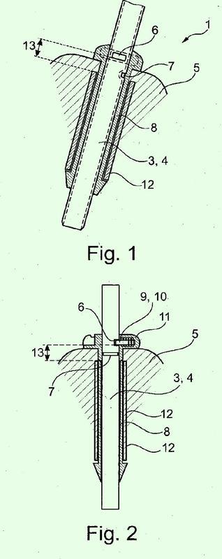 Dispositivo de reposacabezas para asiendo de vehículo a motor.