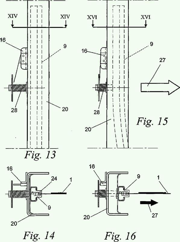 Dispositivo de persiana flexible.