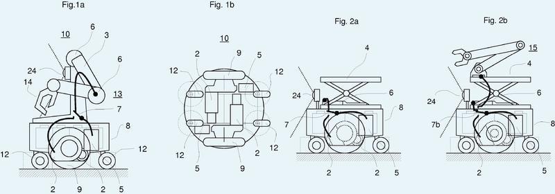 Inversor de accionamiento compartido por diferentes motores en un vehículo.