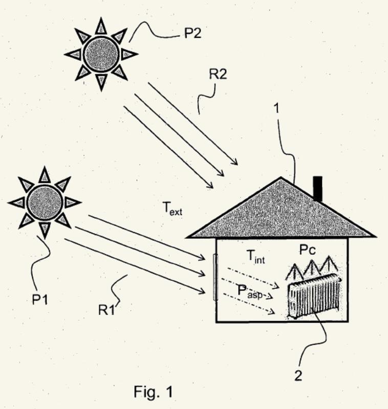 Procedimiento de previsión del consumo energético de un edificio.