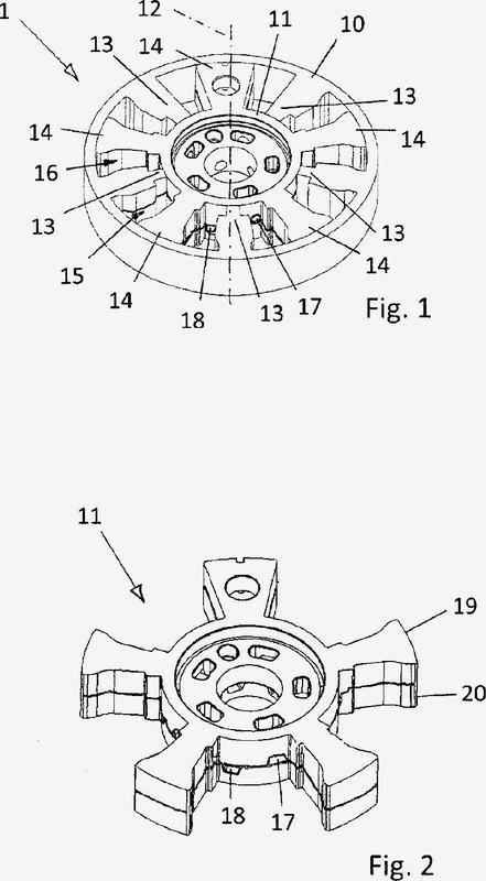 Rotores de múltiples partes unidos en elementos de ajuste de la distribución en el árbol de levas hidráulicos con perfiles estancos de unión y procedimiento para producir los rotores.