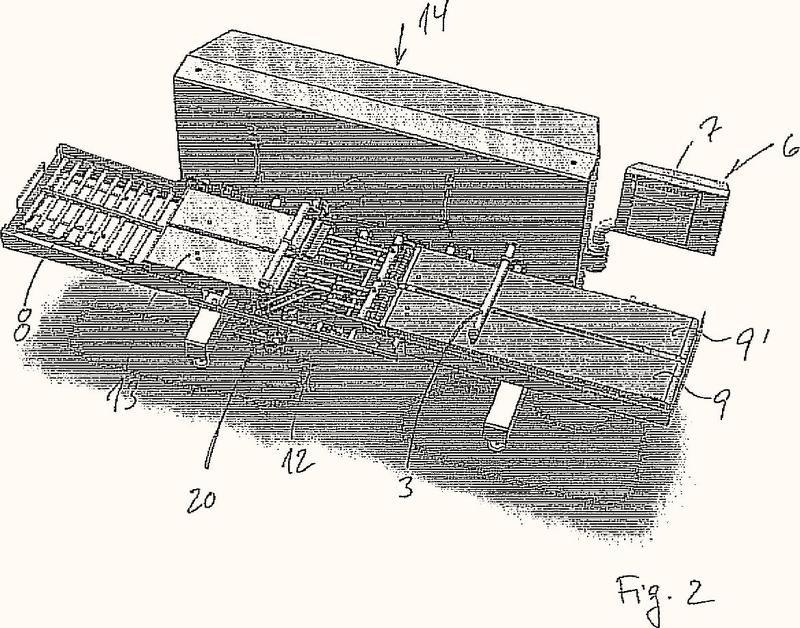 Disposición de cuchillas, particularmente para cortar carne de pescado.