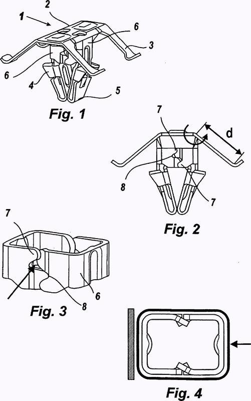 Mejoras en clips para fijación de accesorios en paneles de vehículos.