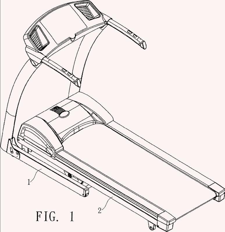 Dispositivo de inclinación y plegado para una máquina de correr.