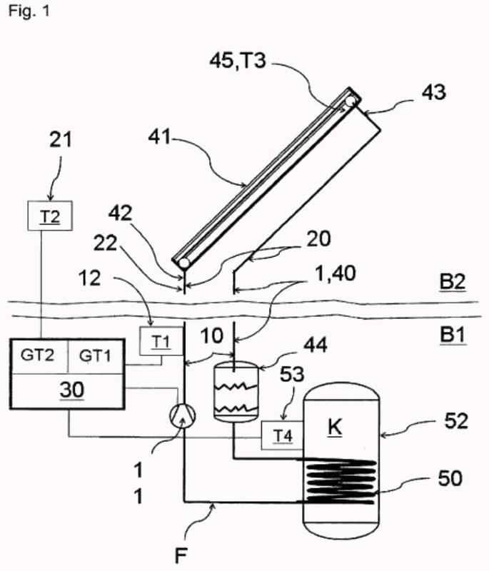Procedimiento para hacer funcionar un sistema de conducto para fluido.